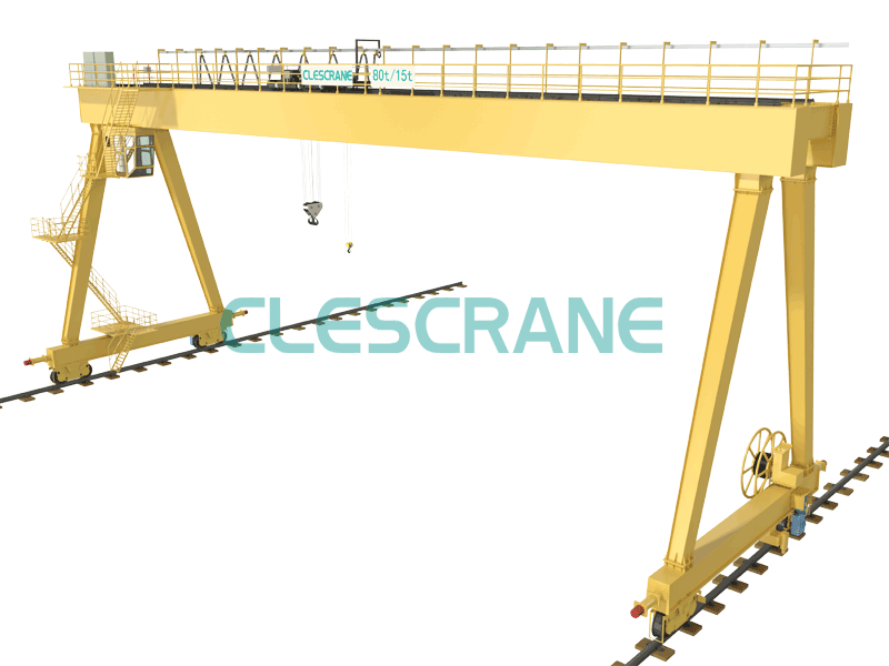 Double Girder Gantry Crane, Heavy Duty Gantry Crane, Open Winch Cranes